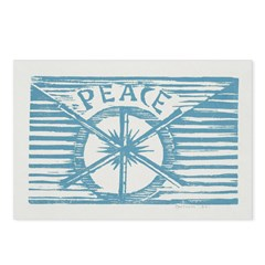 Turquoise Peace By:Werner Drewes Postcards (Packag
