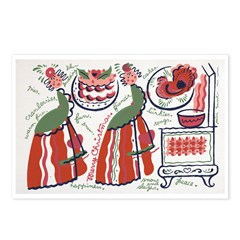 Holiday Meal By: Peter Hunt Postcards (Package of