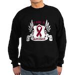 I'm a Survivor - Myeloma Sweatshirt (dark)