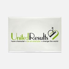 United Results Rectangle Magnet