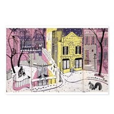 Georgetown Print By: Noche Crist Postcards (Packag