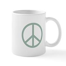 Green Peace Symbol Mug