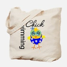 Swimming Chick Tote Bag