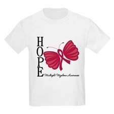 Hope Butterfly - Myeloma T-Shirt