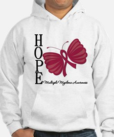 Hope Butterfly - Myeloma Jumper Hoody