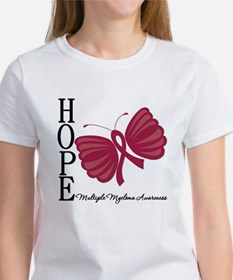 Hope Butterfly - Myeloma Tee