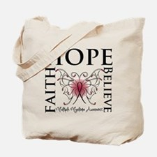 Hope Faith Believe Myeloma Tote Bag