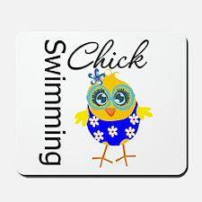 Swimming Chick Mousepad