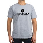 Trust Me I'm A Med Student Men's Fitted T-Shirt (d