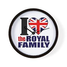 British Royal Family Wall Clock