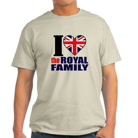 British Royal Family Light T-Shirt