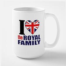 British Royal Family Mug
