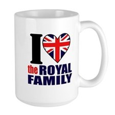 British Royal Family Mug