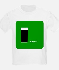 iStout Green Kids T-Shirt