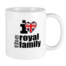 I Love the Royal Family Mug