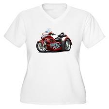 Goldwing Maroon Trike T-Shirt