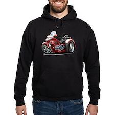 Goldwing Maroon Trike Hoodie