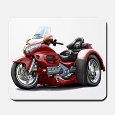 Goldwing Maroon Trike Mousepad