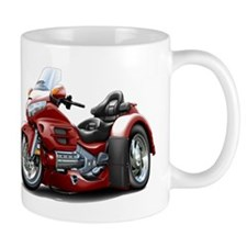 Goldwing Maroon Trike Mug