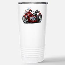 Goldwing Maroon Trike Travel Mug