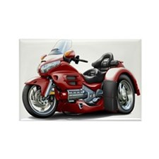 Goldwing Maroon Trike Rectangle Magnet