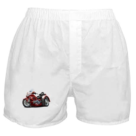 Goldwing Maroon Trike Boxer Shorts