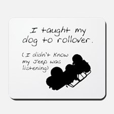 Rollover Mousepad