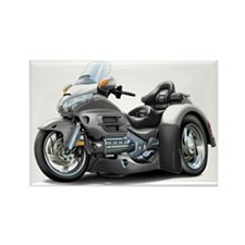 Goldwing Grey Trike Rectangle Magnet