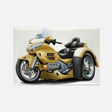 Goldwing Gold Trike Rectangle Magnet