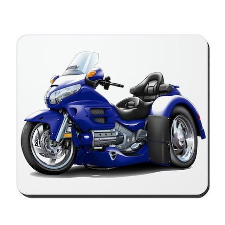 Goldwing Dark Blue Trike Mousepad