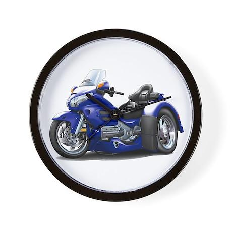 Goldwing Dark Blue Trike Wall Clock