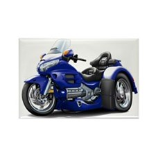 Goldwing Dark Blue Trike Rectangle Magnet