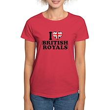 I Love British Royals Tee
