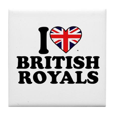 British Royals Tile Coaster
