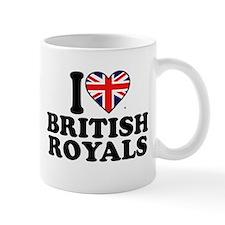 British Royals Small Mug