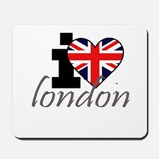 I Love London Mousepad