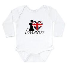 I Love London Onesie Romper Suit