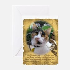 2-calico Greeting Cards