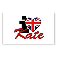 I Love Kate - Royal Family Decal