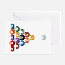 Biljart : Pool Greeting Cards (Pk of 10)