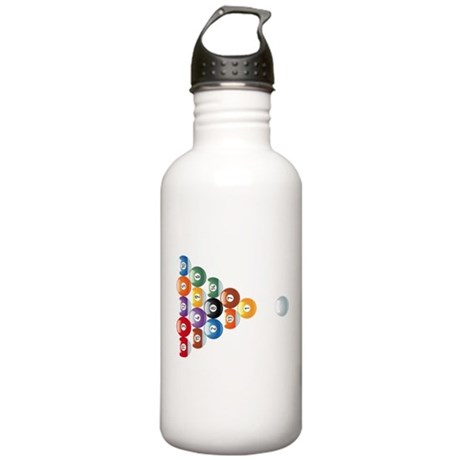 Biljart : Pool Stainless Water Bottle 1.0L