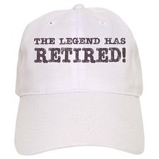 The Legend Has Retired Baseball Cap