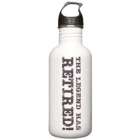 The Legend Has Retired Stainless Water Bottle 1.0L