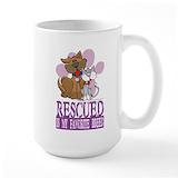 Save a shelter dog Large Mugs (15 oz)