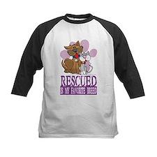 Rescued Is My Favorite Breed Tee