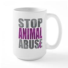 Stop Animal Abuse(Paw) Mug