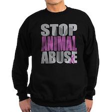 Stop Animal Abuse(Paw) Sweatshirt