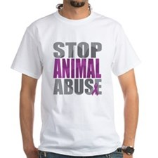 Stop Animal Abuse(Paw) Shirt