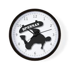 Brennan - Skateboard Wall Clock