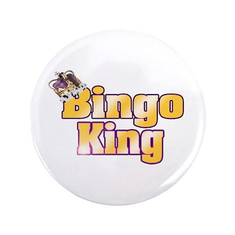 "Bingo King 3.5"" Button (100 pack)"